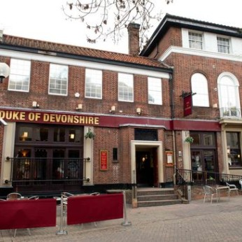 Duke of Devonshire, Eastbourne