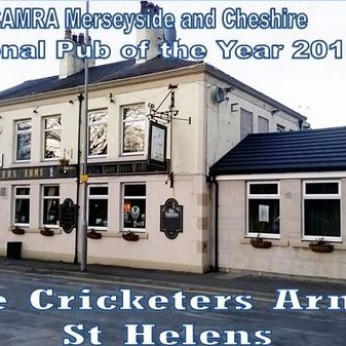 Cricketers Arms, St Helens