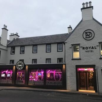 Royal Hotel, Cumnock