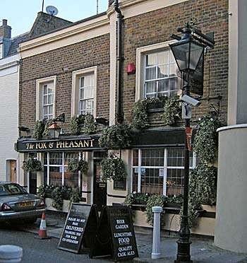 Menu food fox pheasant kensington and chelsea for The pheasant pub london