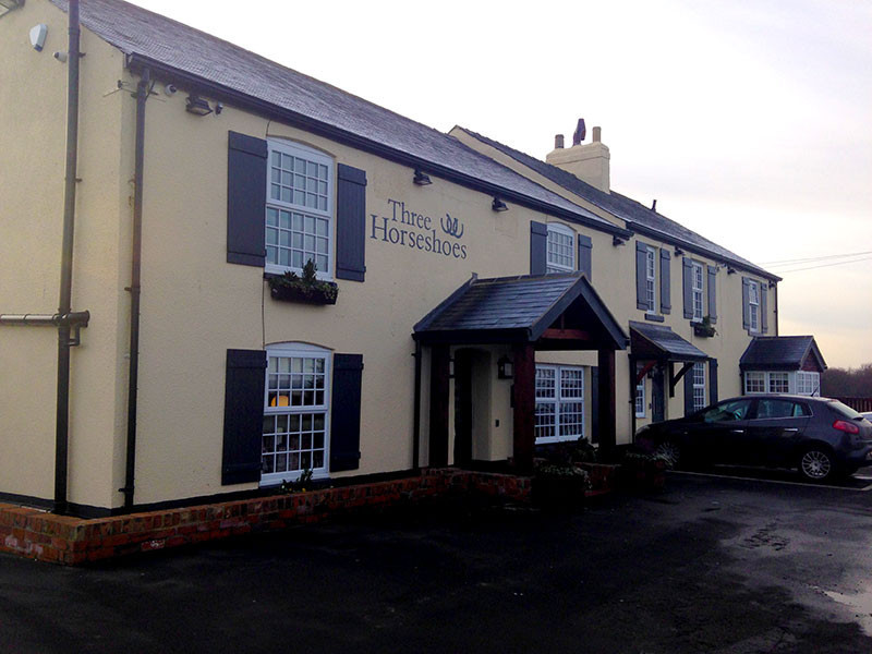 Latest pub reviews | Three Horseshoes, Running Waters